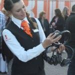 Hostess zakelijk - silent disco foto fotos -