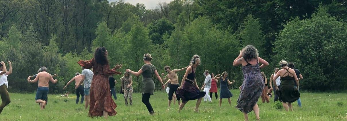 ecstatic dance outside