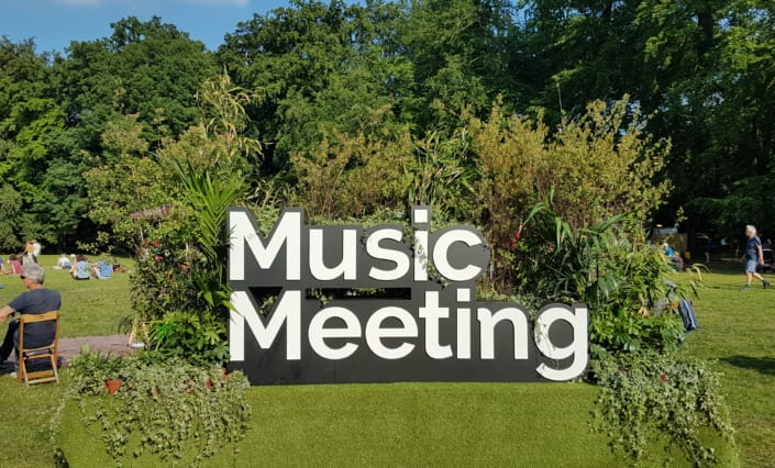 music meeting in the park