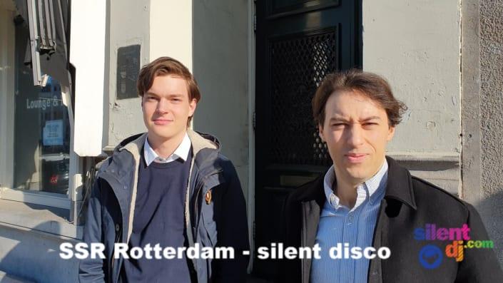 silent disco thuisfeestjes interview studenten thuisfeest interview SSR Rotterdam