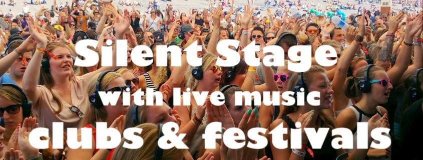 silent stage voor clubs en festivals live muziek