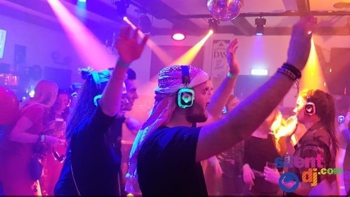 silent disco studenten party
