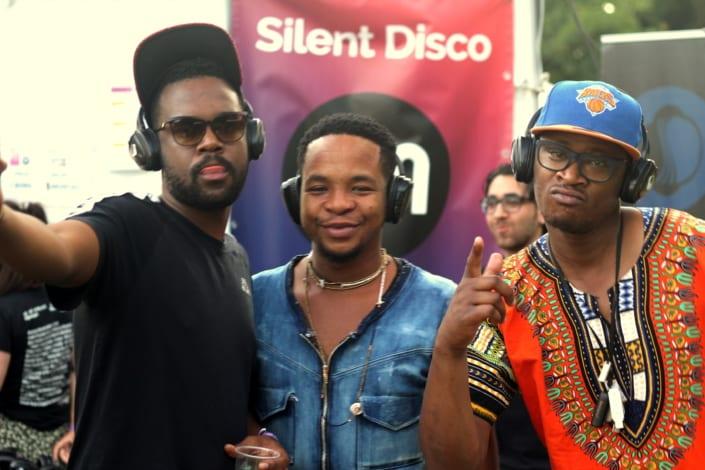 silent dj fans