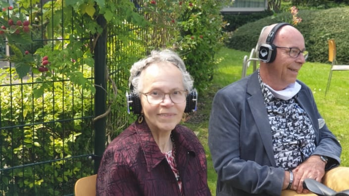 senioren silent disco zorgcentrum