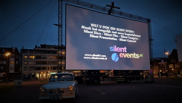 silent bioscoop screen