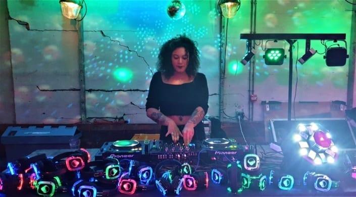 silent disco studenten party Nijmegen