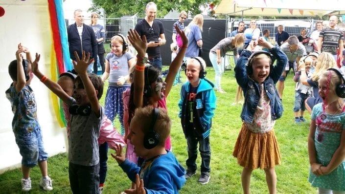 kids fun silent kinderdisco