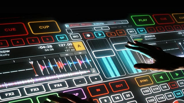 silent disco Touch DJ visual DJ